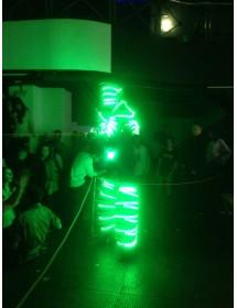 Robot com LEDs