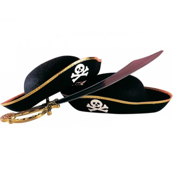 97ca829f5d0c3 Chapéu Pirata (criança)