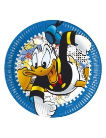 Pratos Pato Donald (pack 8)