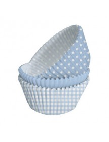 75 Formas Cupcakes Azul