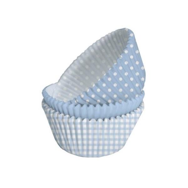 75 Formas Cupcakes Azul Mr Party