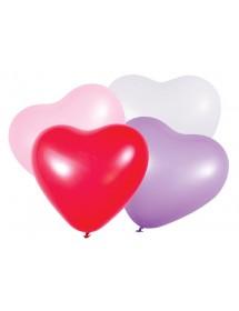 Balões Coração (pack 100) 50cm