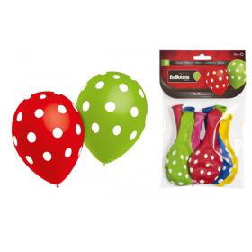Balões Bolinhas (pack 8)