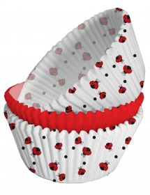 75 Formas Cupcakes Joaninhas
