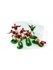Jogadores Futebol e Balizas