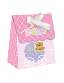 Sacos Baby Shower Rosa (pack 12)