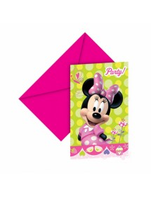 Convites Minnie (pack 6)