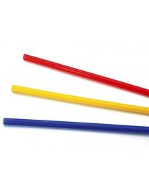Palhinhas Direita Larga Colorida (pack 250)