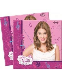Guardanapos Violetta (20 unidades)