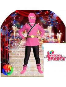 Fato Ninja Rosa