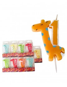 Vela Número (Girafa)