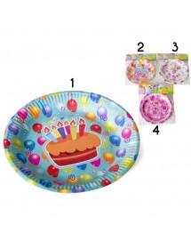 Pratos Aniversário (pack 7)