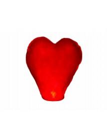 Lanterna Chinesa Coração