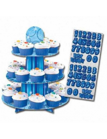 Stand Personalizável p/ Cupcakes (3 andares)