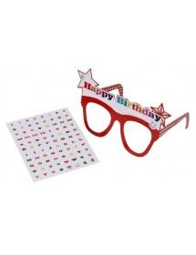 Óculos Happy Birthday Personalizáveis