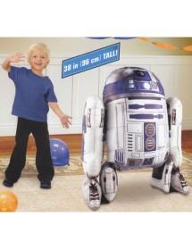 Balão Foil Airwalker Star Wars R2D2 (96cm)