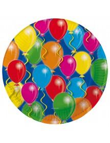 Pratos Balões