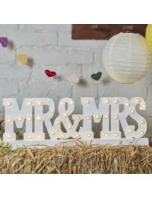 MR&MRS Iluminado (53cm)