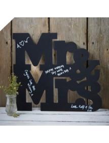 Ardósia MR&MRS (40cm)