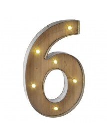 Número 5 Luminoso (40 cm)