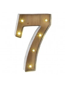 Número 6 Luminoso (40 cm)