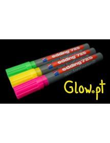 Caneta Giz Líquido Fluorescente