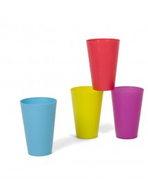 Copos Plástico (pack 4)