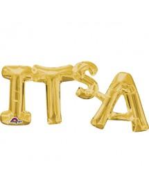 Balão Foil PARTY Dourado 40cm