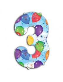 Balão Número Foil 86cm (0-9) Balões