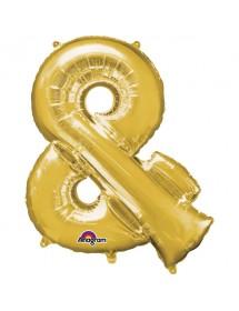 Balão Foil @ 41cm Dourado