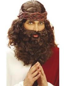 Peruca Jesus c/ Barba