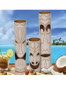 Centro de Mesa Tiki (3 peças)
