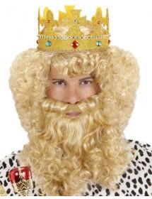 Peruca Rei c/ Barba