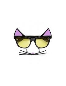 Óculos Gata c/ Bigodes