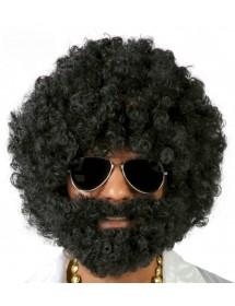 Peruca e Barba Afro