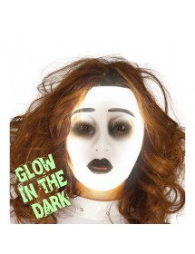 Máscara Glow in the dark Mulher
