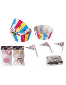 Formas Cupcakes c/ Picks