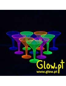 Copo Martini Fluorescente (pack 12)