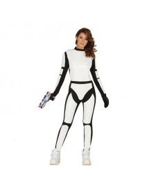 Fato Mulher Soldado Espacial