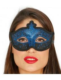 Máscara Veneza Azul