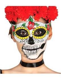 Máscara Dia dos Mortos II