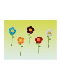 Flores com música