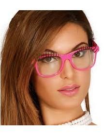 Óculos com Pestanas