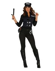 Fato Mulher SWAT