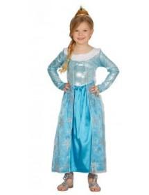 Vestido Princesa Azul