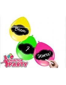 Balões Fluorescentes Personalizáveis ( Pack 6 )