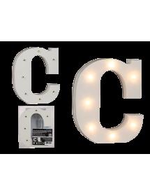 Letras em madeira LED