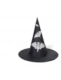 Chapéu Bruxa com Morcegos