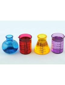 Copos de Shot Química ( Pack 4 )