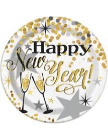 Pratos Happy New Year